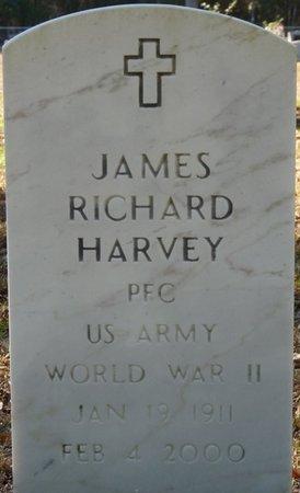 HARVEY (VETERAN WWII), JAMES RICHARD (NEW) - Wakulla County, Florida | JAMES RICHARD (NEW) HARVEY (VETERAN WWII) - Florida Gravestone Photos