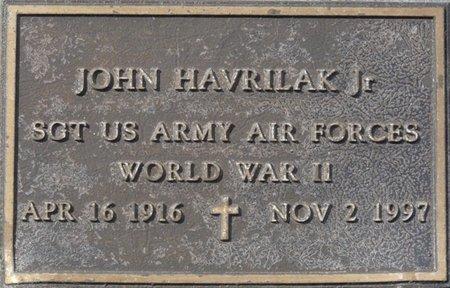 HAVRILAK JR. (VETERAN WWII), JOHN (NEW) - Wakulla County, Florida   JOHN (NEW) HAVRILAK JR. (VETERAN WWII) - Florida Gravestone Photos