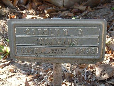 HAWKINS, CAROLYN D - Wakulla County, Florida | CAROLYN D HAWKINS - Florida Gravestone Photos