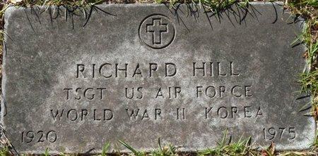 HILL (VETERAN WWII KOR), RICHARD (NEW) - Wakulla County, Florida   RICHARD (NEW) HILL (VETERAN WWII KOR) - Florida Gravestone Photos