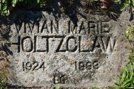 HOLTZCLAW, VIVIAN MARIE - Wakulla County, Florida | VIVIAN MARIE HOLTZCLAW - Florida Gravestone Photos