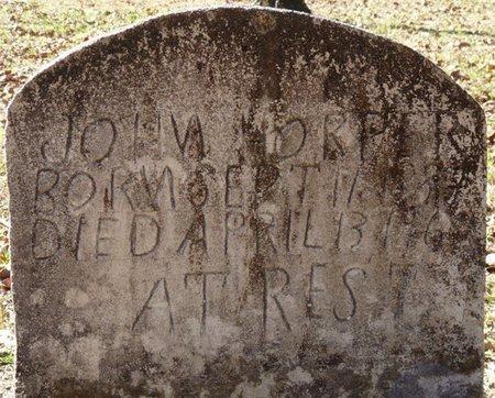 HORPER, JOHN - Wakulla County, Florida | JOHN HORPER - Florida Gravestone Photos