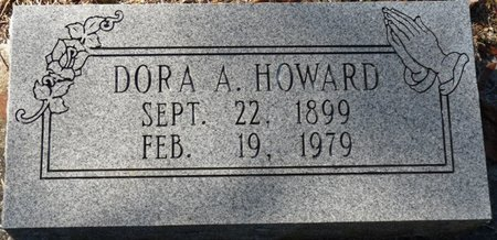 ANDREWS HOWARD, DORA - Wakulla County, Florida | DORA ANDREWS HOWARD - Florida Gravestone Photos