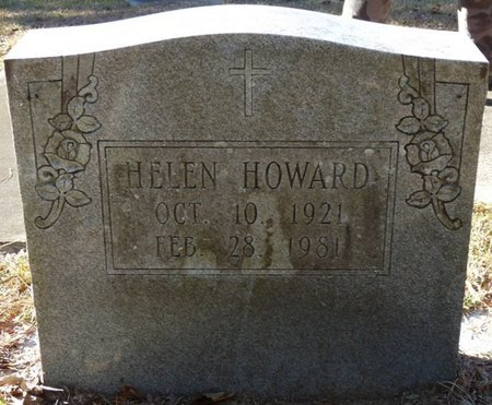 HOWARD, HELEN - Wakulla County, Florida | HELEN HOWARD - Florida Gravestone Photos