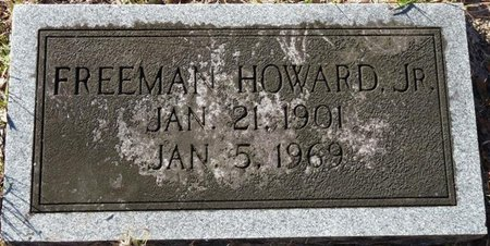 HOWARD JR., FREEMAN - Wakulla County, Florida   FREEMAN HOWARD JR. - Florida Gravestone Photos