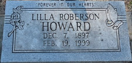 ROBERSON HOWARD, LILLA - Wakulla County, Florida | LILLA ROBERSON HOWARD - Florida Gravestone Photos