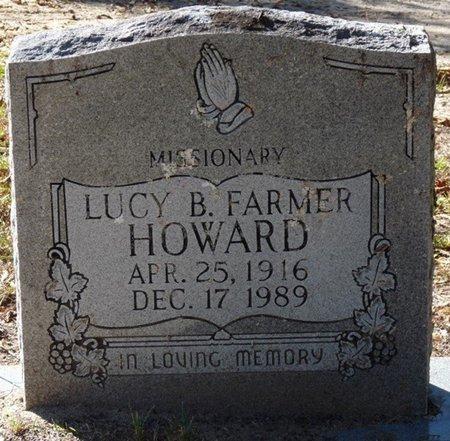 FARMER HOWARD, LUCY B - Wakulla County, Florida | LUCY B FARMER HOWARD - Florida Gravestone Photos