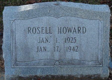 HOWARD, ROSELL - Wakulla County, Florida   ROSELL HOWARD - Florida Gravestone Photos