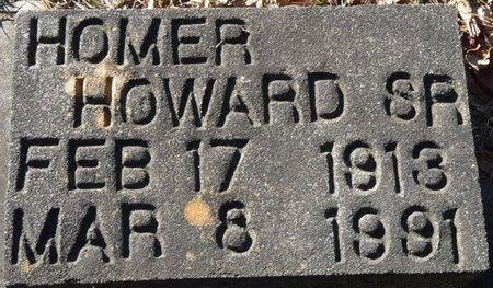 HOWARD SR., HOMER - Wakulla County, Florida | HOMER HOWARD SR. - Florida Gravestone Photos
