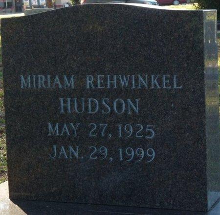 HUDSON, MIRIAM - Wakulla County, Florida | MIRIAM HUDSON - Florida Gravestone Photos