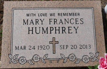 MEEHAN HUMPHREY, MARY FRANCES - Wakulla County, Florida   MARY FRANCES MEEHAN HUMPHREY - Florida Gravestone Photos