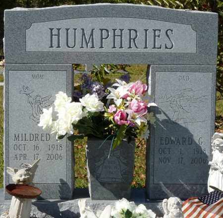 HUMPHRIES, MILDRED - Wakulla County, Florida | MILDRED HUMPHRIES - Florida Gravestone Photos