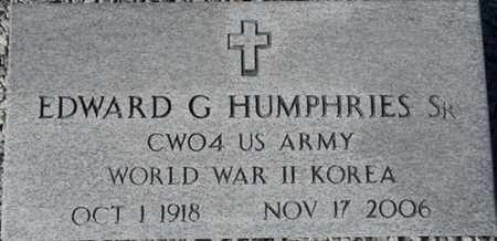 HUMPHRIES SR. (VET. WWII KOR), EDWARD G (NEW) - Wakulla County, Florida | EDWARD G (NEW) HUMPHRIES SR. (VET. WWII KOR) - Florida Gravestone Photos