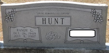 HUNT, RANDY G - Wakulla County, Florida   RANDY G HUNT - Florida Gravestone Photos