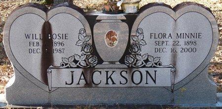 JACKSON, WILL BOSIE - Wakulla County, Florida | WILL BOSIE JACKSON - Florida Gravestone Photos