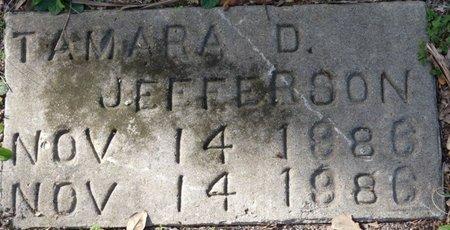 JEFFERSON, TAMARA D - Wakulla County, Florida   TAMARA D JEFFERSON - Florida Gravestone Photos