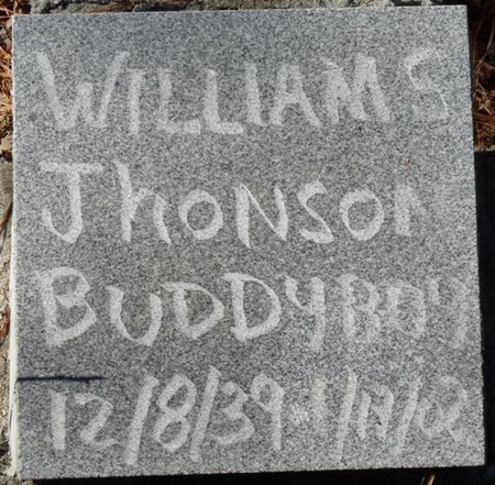 "JHONSON, WILLIAM S ""BUDDY BOY"" - Wakulla County, Florida | WILLIAM S ""BUDDY BOY"" JHONSON - Florida Gravestone Photos"