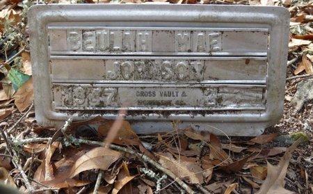 JOHNSON, BEULAH MAE - Wakulla County, Florida   BEULAH MAE JOHNSON - Florida Gravestone Photos