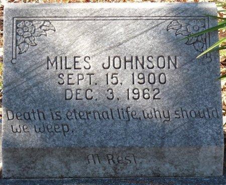JOHNSON, MILES - Wakulla County, Florida   MILES JOHNSON - Florida Gravestone Photos