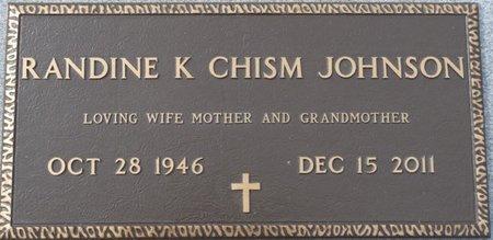 JOHNSON, RANDINE K - Wakulla County, Florida | RANDINE K JOHNSON - Florida Gravestone Photos