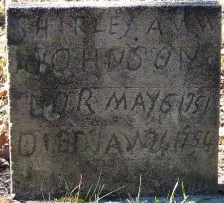 JOHNSON, SHIRLEY ANN - Wakulla County, Florida | SHIRLEY ANN JOHNSON - Florida Gravestone Photos