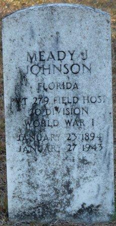 JOHNSON (VETERAN WWI), MEADY J (NEW) - Wakulla County, Florida | MEADY J (NEW) JOHNSON (VETERAN WWI) - Florida Gravestone Photos