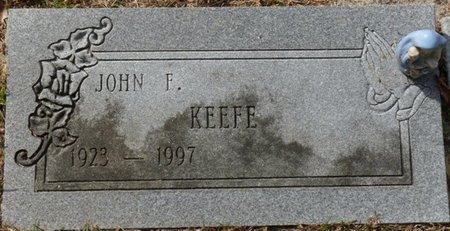 KEEFE, JOHN FERGUSON - Wakulla County, Florida | JOHN FERGUSON KEEFE - Florida Gravestone Photos