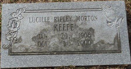 KEEFE, LUCILLE MORTON - Wakulla County, Florida | LUCILLE MORTON KEEFE - Florida Gravestone Photos