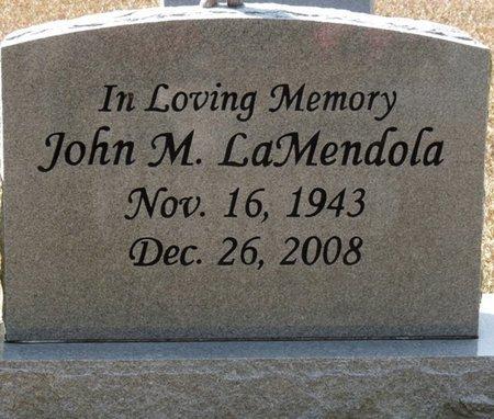 LAMENDOLA JR., JOHN MICHAEL - Wakulla County, Florida | JOHN MICHAEL LAMENDOLA JR. - Florida Gravestone Photos