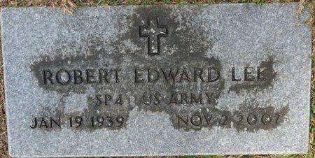 LEE (VETERAN), ROBERT EDWARD (NEW) - Wakulla County, Florida | ROBERT EDWARD (NEW) LEE (VETERAN) - Florida Gravestone Photos