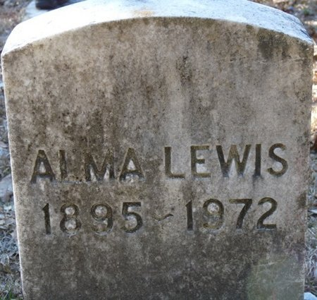LEWIS, ALMA - Wakulla County, Florida   ALMA LEWIS - Florida Gravestone Photos