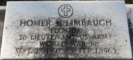"LIMBAUGH SR. (VETERAN WWI), HOMER BLITCH ""BUTCH"" (NEW) - Wakulla County, Florida | HOMER BLITCH ""BUTCH"" (NEW) LIMBAUGH SR. (VETERAN WWI) - Florida Gravestone Photos"