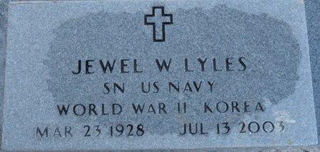 LYLES (VETERAN WWII KOR), JEWEL WILBURN (NEW) - Wakulla County, Florida | JEWEL WILBURN (NEW) LYLES (VETERAN WWII KOR) - Florida Gravestone Photos