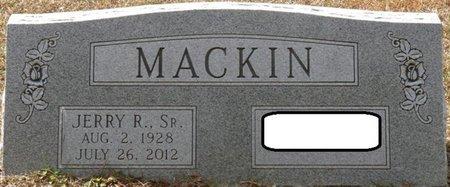 MACKIN SR., JERRY R - Wakulla County, Florida   JERRY R MACKIN SR. - Florida Gravestone Photos