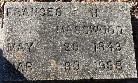 MAGOWOOD, FRANCES H - Wakulla County, Florida   FRANCES H MAGOWOOD - Florida Gravestone Photos