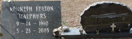MALPHURS, KENNETH FULTON - Wakulla County, Florida   KENNETH FULTON MALPHURS - Florida Gravestone Photos