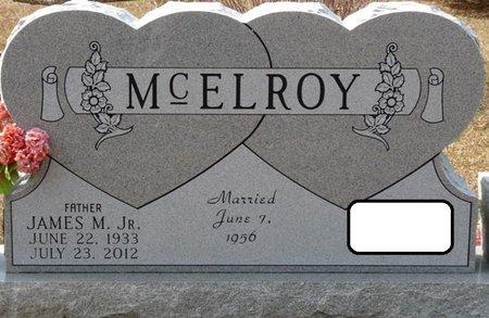 MCELROY JR., JAMES M - Wakulla County, Florida | JAMES M MCELROY JR. - Florida Gravestone Photos