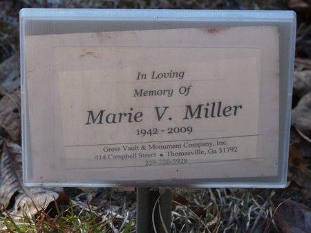 MILLER, MARIE V - Wakulla County, Florida   MARIE V MILLER - Florida Gravestone Photos