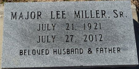 MILLER SR., MAJOR LEE - Wakulla County, Florida   MAJOR LEE MILLER SR. - Florida Gravestone Photos