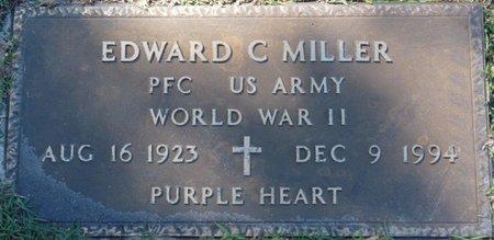 MILLER (VETERAN WWII), EDWARD C (NEW) - Wakulla County, Florida | EDWARD C (NEW) MILLER (VETERAN WWII) - Florida Gravestone Photos