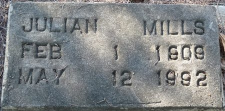 MILLS, JULIAN - Wakulla County, Florida | JULIAN MILLS - Florida Gravestone Photos