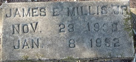 MILLS JR., JAMES E - Wakulla County, Florida   JAMES E MILLS JR. - Florida Gravestone Photos