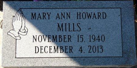 HOWARD MILLS, MARY ANN - Wakulla County, Florida | MARY ANN HOWARD MILLS - Florida Gravestone Photos