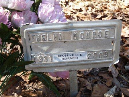 MONROE, THELMA MARIE - Wakulla County, Florida | THELMA MARIE MONROE - Florida Gravestone Photos