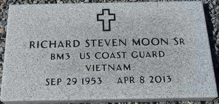 MOON SR. (VETERAN VIET), RICHARD STEVEN (NEW) - Wakulla County, Florida | RICHARD STEVEN (NEW) MOON SR. (VETERAN VIET) - Florida Gravestone Photos