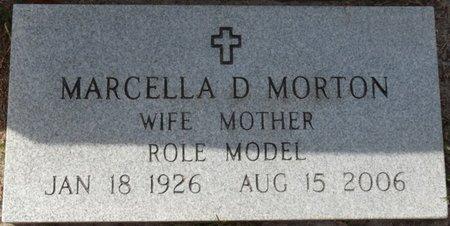 MORTON, MARCELLA D - Wakulla County, Florida | MARCELLA D MORTON - Florida Gravestone Photos