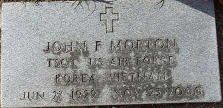 MORTON (VETERAN KOR VIET), JOHN F (NEW) - Wakulla County, Florida   JOHN F (NEW) MORTON (VETERAN KOR VIET) - Florida Gravestone Photos