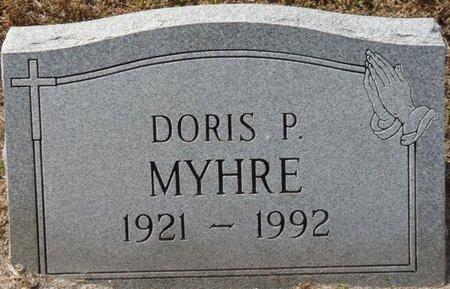 MYHRE, DORIS P - Wakulla County, Florida | DORIS P MYHRE - Florida Gravestone Photos