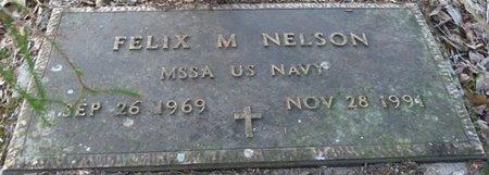 NELSON (VETERAN), FELIX M (NEW) - Wakulla County, Florida | FELIX M (NEW) NELSON (VETERAN) - Florida Gravestone Photos