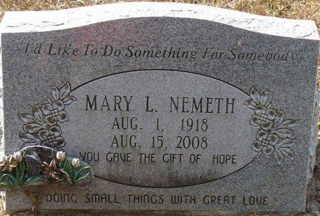 NEMETH, MARY L - Wakulla County, Florida   MARY L NEMETH - Florida Gravestone Photos